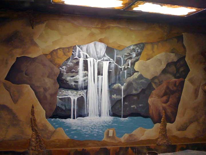 Murals yvonne c lozano for Church wall mural