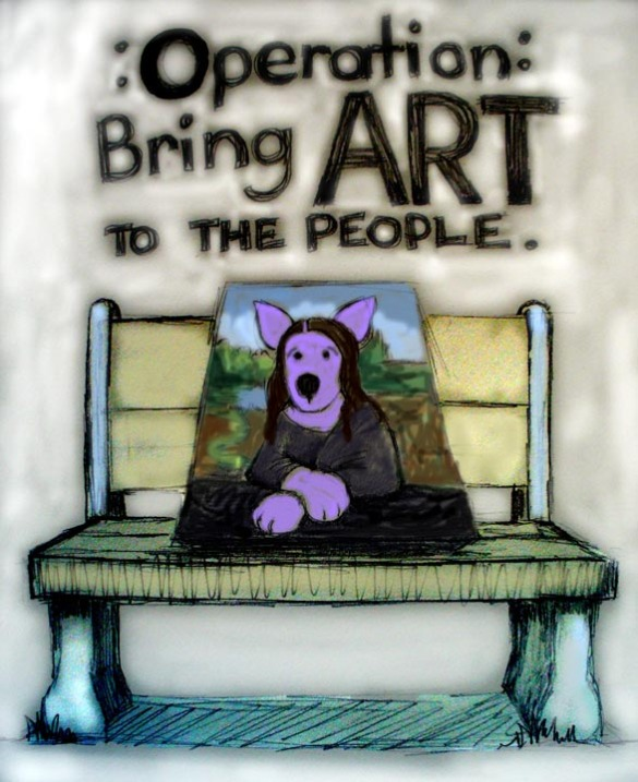 OPERATION: Bring Art to the People