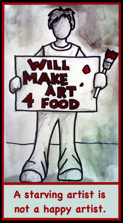 Will Make Art For Food...