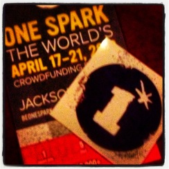 On January 31st, One Spark held their 2nd town hall meeting at the Florida Theatrer It was so exciting to hear all the great and wonderful creative spirits that live and breathe right here in our very own city. If you don't know what One Spark is, click the link above to get in the know and get involved.