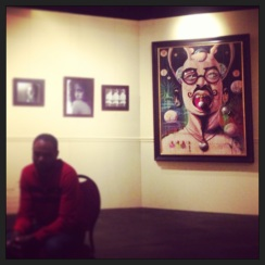 My friend and one of Jacksonville's most prolific artists, Mr. Overstreet Ducasse, did a wonderful One on One artist talk at the Ritz Museum on Jan 22nd. It's always great to hear what goes on inside the mind of an artist. To see and learn more about Overstreet, click the pic and visit his facebook page.