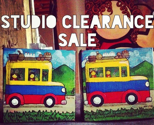 studio clearance sale
