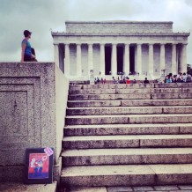 Random Act of Free Art Kindness: Lincoln Memorial