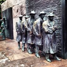 Breathtaking art at the FDR Memorial... — at Franklin Delano Roosevelt Memorial.