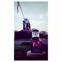 Random Act of Free Art Kindness: Iwo Jima Memorial
