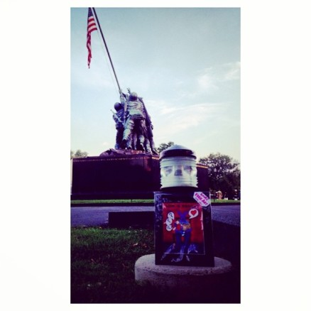 Random Act of Free Art Kindness: Iwo Jima Memorial