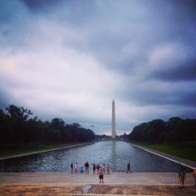 Washington Monument in the distance...Monument.