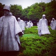So much stunning public art: Korean War Veterans Memorial