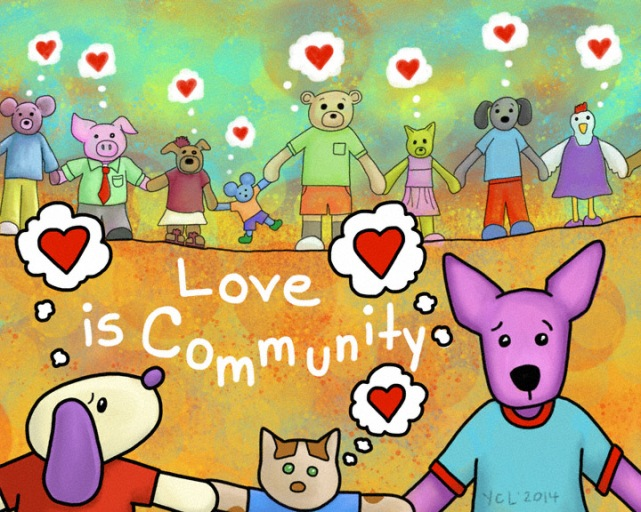 Love is Community prints are now available through my Fine Art America Store